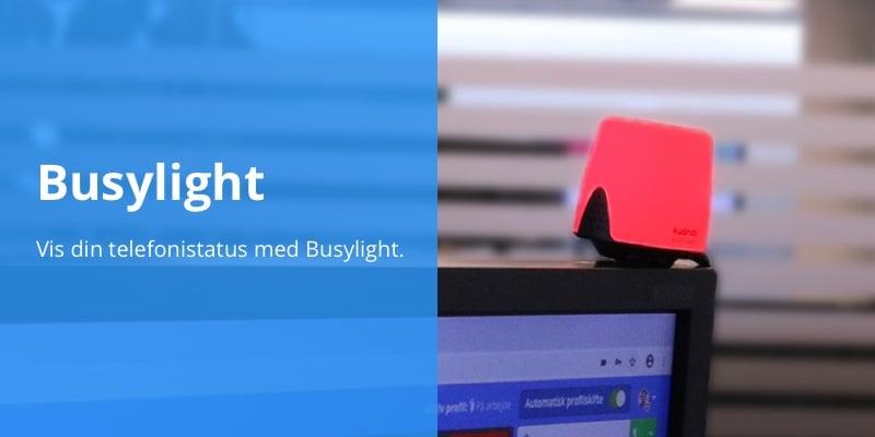Brug Busylight sammen med Flexxfone