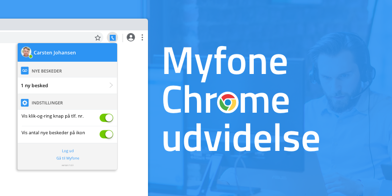 Click to call extension til Chrome