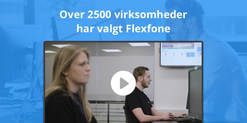 Hvert år kommer flere og flere kunder til Flexfone familien