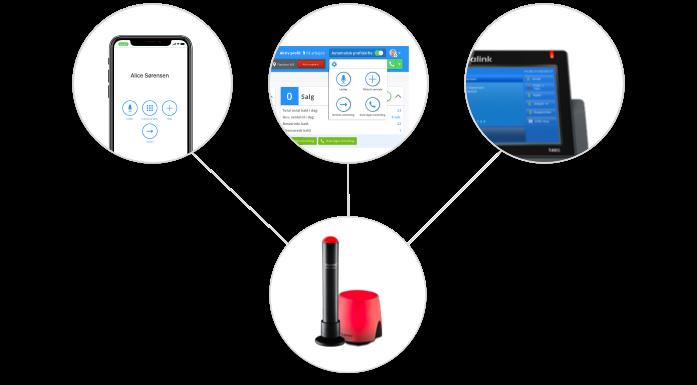 Busylight med Flexfone viser din telefon-ledighed fra alle dine enheder